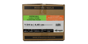 hand drive roofing nails